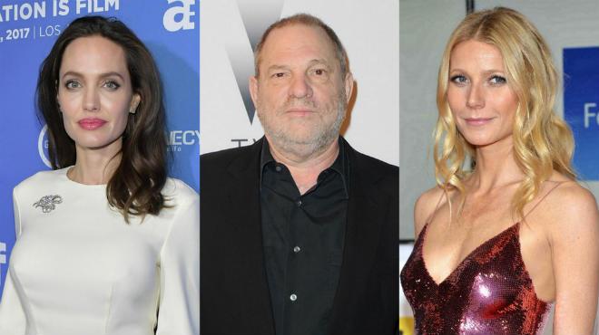 Анджелина Джоли и Гвинет Пэлтроу рассказали о домогательствах Харви Вайнштейна