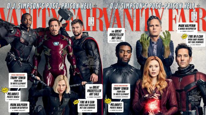 Все супергерои Marvel собрались вместе в фотосессии для Vanity Fair