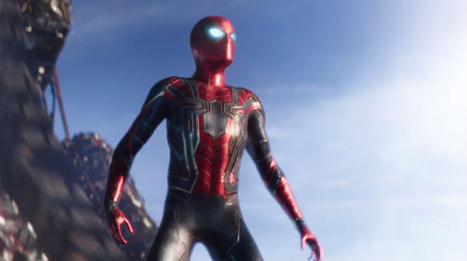 Первый взгляд на новый костюм Человека-паука в фильме «Мстители: Война бесконечности»