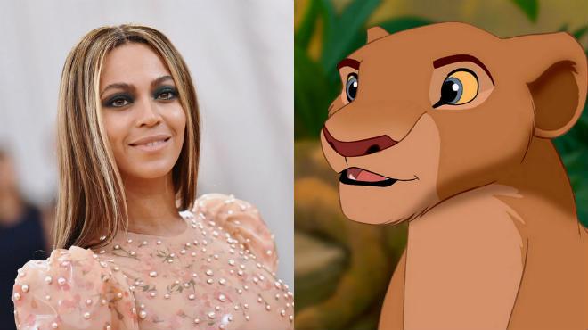 Бейонсе присоединилась к касту «Короля Льва»