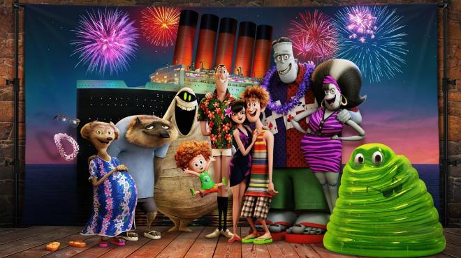 Первый кадр мультфильма «Монстры на каникулах 3»